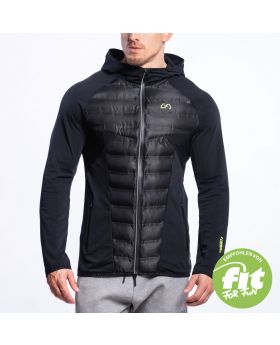 Gym Aesthetics | Ultrasonic 2.0 Training Jacket for Men in Black - previw