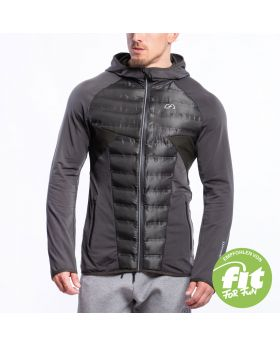 Gym Aesthetics | Ultrasonic 2.0 Training Jacket for Men in Olive - previw