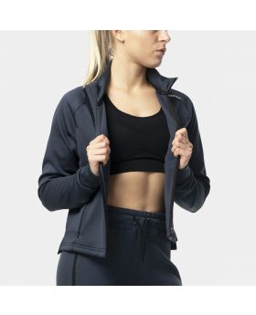 """Athleisure jacket for ladies """"OutRun"""" in navy blue 