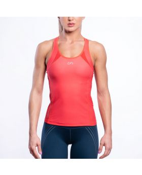 Gym Aesthetics | Performance Tank Tops for Women in Coral - previw