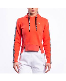 Gym Aesthetics | Training Hoodie for Women in Coral - previw