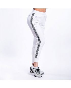 Gym Aesthetics | Training Jogger pants for Women in White - previw