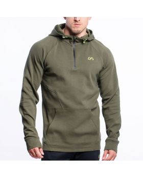 Gym Aesthetics | Performance Hoodie for Men in Navy - previw
