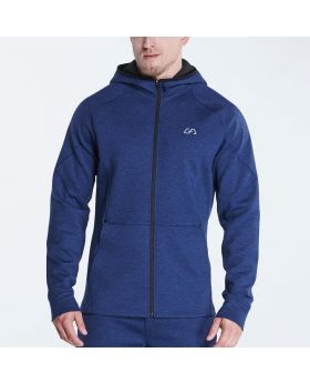 OutRun Jacke für Herren in Melange Navy - preview