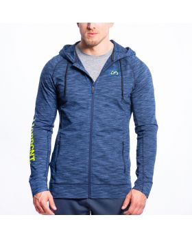 Gym Aesthetics | Training Jacke für Herren in Melange Blau - preview