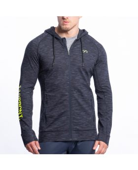Gym Aesthetics | Training Jacke für Herren in Melange Navy - preview