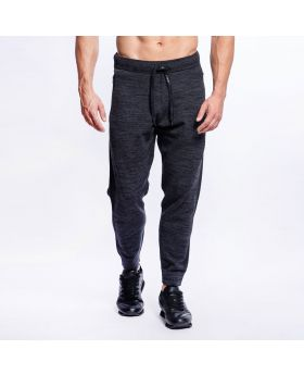 Gym Aesthetics | Active Relax Sweatpants for Men in Melange Charcoal - preview