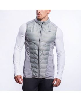 Gym Aesthetics | Ultrasonic 2.0 Vest for Men in Melange Grey - previw