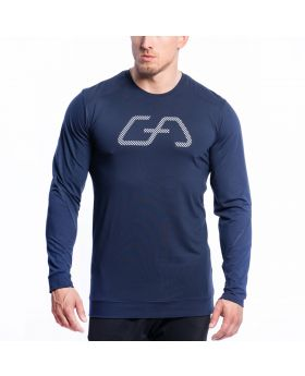 Gym Aesthetics | Training Loose-Fit T-Shirt für Herren in Marine - preview