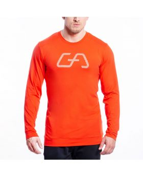 Gym Aesthetics | Training Loose-Fit T-Shirt for Men in Orange - previw