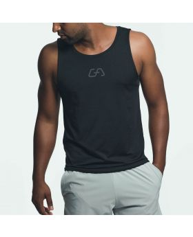 Gym Aesthetics | Workout 'Intensity' Tank Top for Men in Black - preview