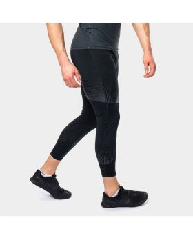 "Mens compression pants ""HiTense"" in black"