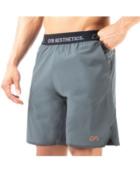 "Mens sport shorts ""Dynamic"" in green for fitness"