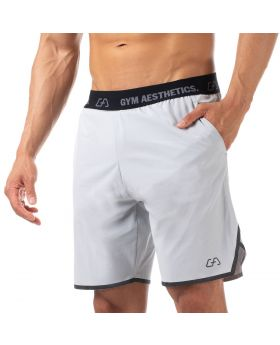 "Mens sport shorts ""Dynamic"" in grey for fitness"