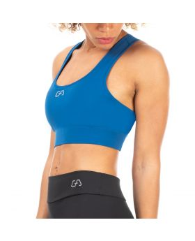 "Exercise bra ""Energy"" for women in light blue"