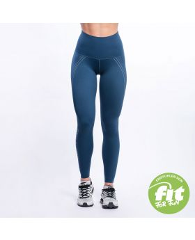 Gym Aesthetics | Supportive Compression Leggings für Damen in Blaugrün - preview