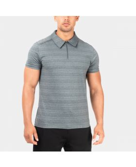 GYMAESTHETICS FLASH TRAINING T-SHIRT- GREY