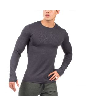 GymAesthetics Performance Fit Longsleeve - Grey