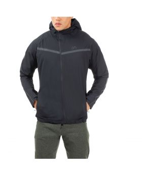 "Windbreaker Jacke Herren ""Performance"" in Schwarz"