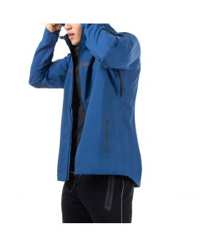 "Windbreaker Jacke Herren ""Performance"" in Blau"