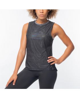 GymAesthetics Seamless Performance Tank Olive Green