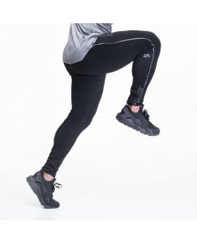 """Fitted sweatpants for men """"Hitex 2.0"""" in black"""